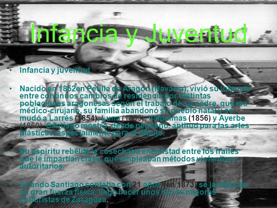 Infancia y Juventud Infancia y juventud Nacido en 1852en Petilla de Aragón (Navarra), vivió su infancia entre continuos cambios de residencia por distintas poblaciones aragonesas según el trabajo de su padre, que era médico-cirujano, su familia abandonó su pueblo natal y se mudó a Larrés (1854), Luna (1855), Valpalmas (1856) y Ayerbe (1860).