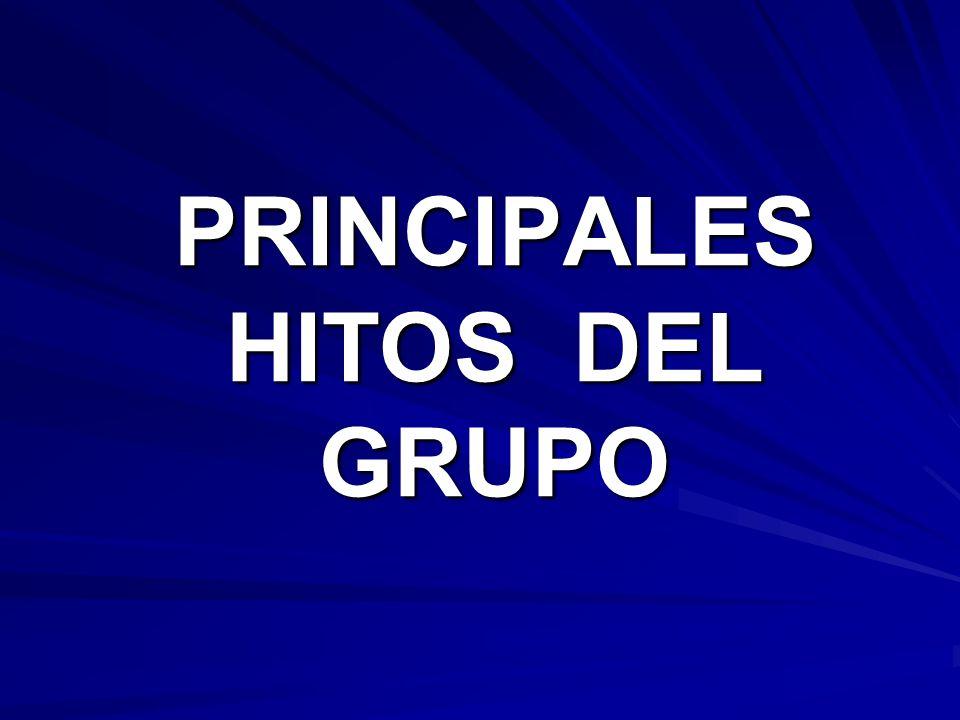 PRINCIPALES HITOS DEL GRUPO