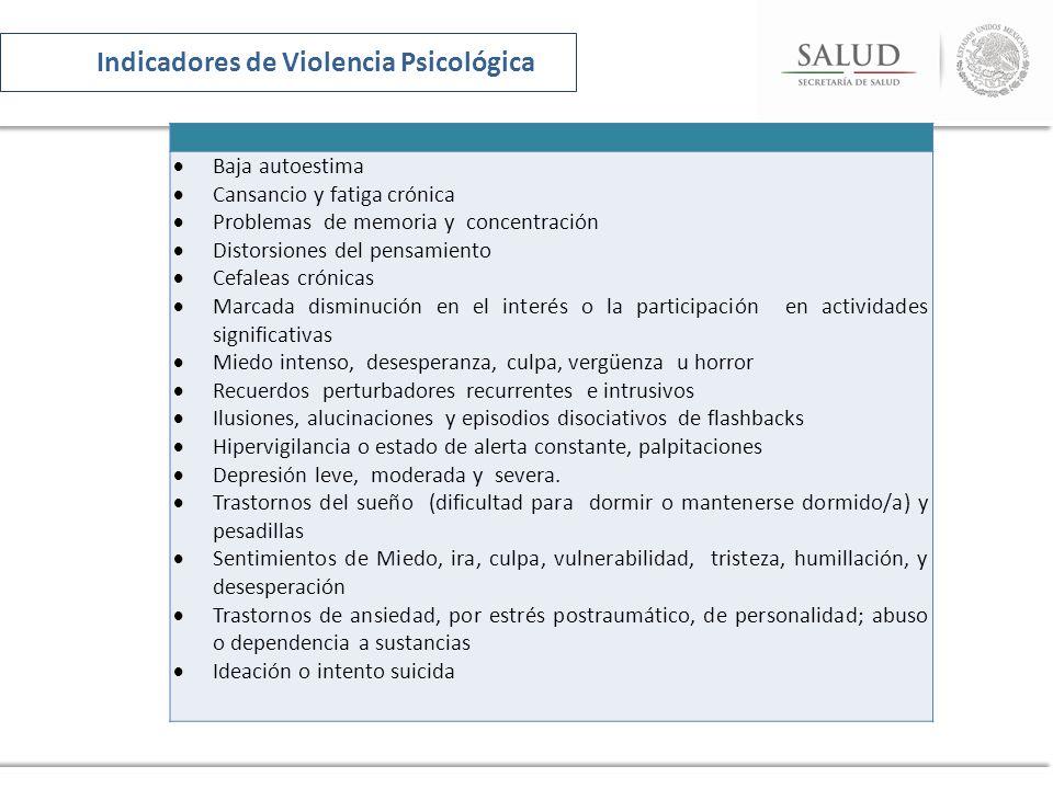 Promoción Promoción del derecho a una vida sin violencia Desnaturalización de la violencia 4.