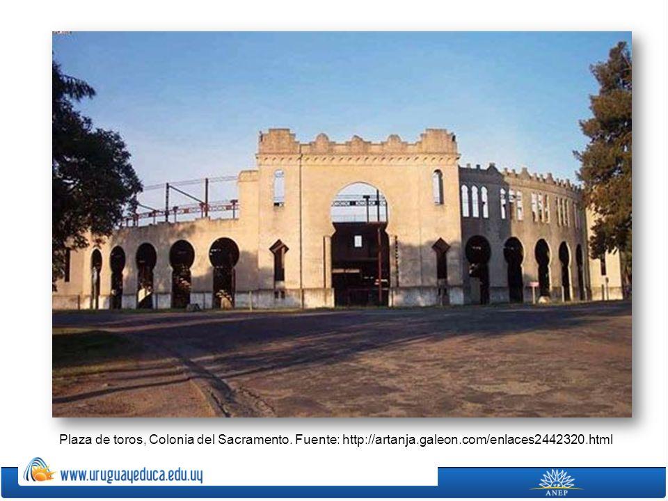 Plaza de toros, Colonia del Sacramento. Fuente: http://artanja.galeon.com/enlaces2442320.html