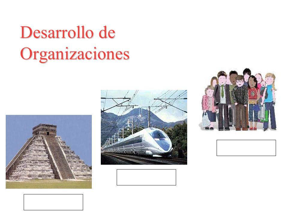 Desarrollo de Organizaciones estructura cultura tecnología