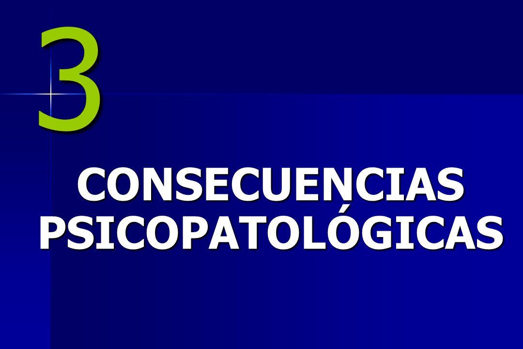 3 CONSECUENCIAS PSICOPATOLÓGICAS
