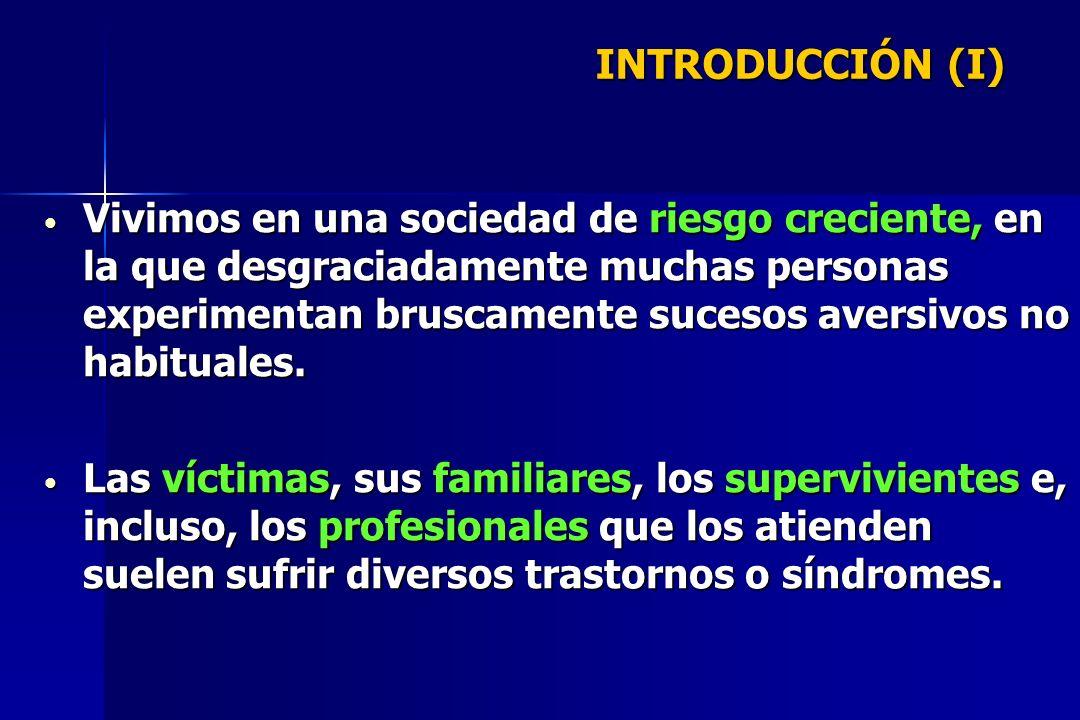Procedimientos Generales Los protocolos de intervención más eficaces conjugan: TERAPIA DE EXPOSICIÓN TERAPIA DE EXPOSICIÓN - Implosiva - Por desensibilización sistemática ENTRENAMIENTO EN CONTROL DE LA ANSIEDAD ENTRENAMIENTO EN CONTROL DE LA ANSIEDAD Cognitiva y conductual VENTILACIÓN CON RECONDUCCIÓN COGNITIVA VENTILACIÓN CON RECONDUCCIÓN COGNITIVA Expresión y apoyo emocional más reevaluación cognitiva APOYO PSICOFARMACOLÓGICO APOYO PSICOFARMACOLÓGICO INTERVENCIÓN EN SÍNTOMAS CONCRETOS INTERVENCIÓN EN SÍNTOMAS CONCRETOS