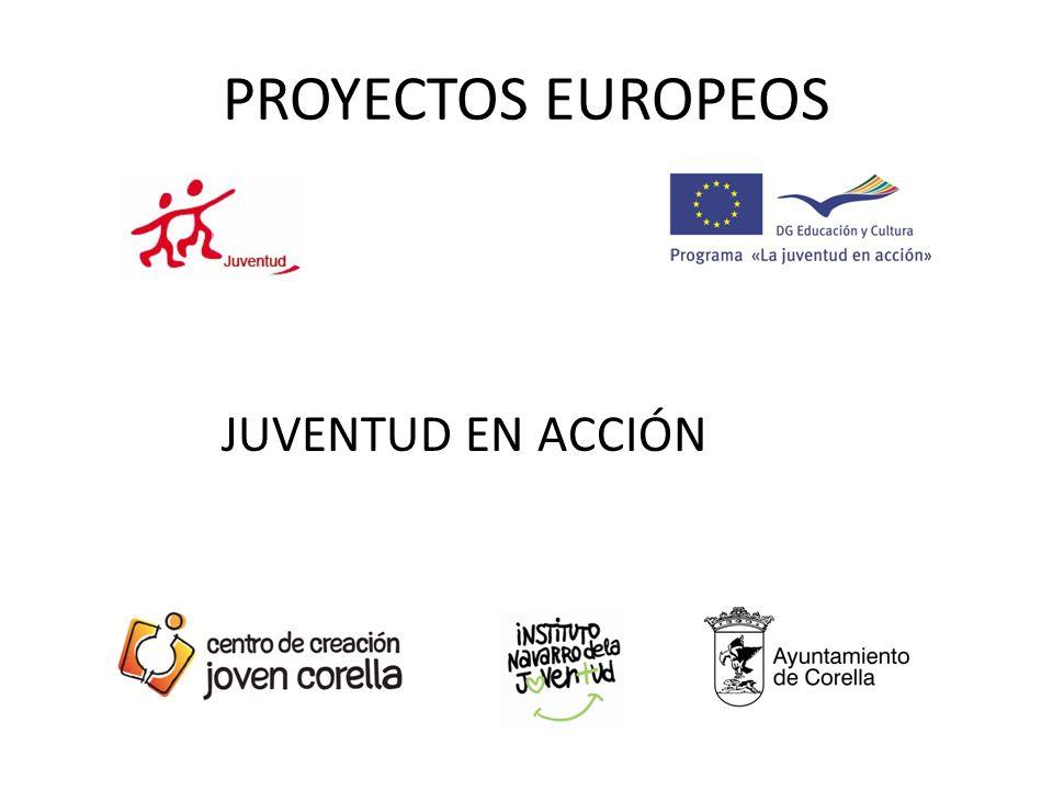 PROYECTOS EUROPEOS JUVENTUD EN ACCIÓN