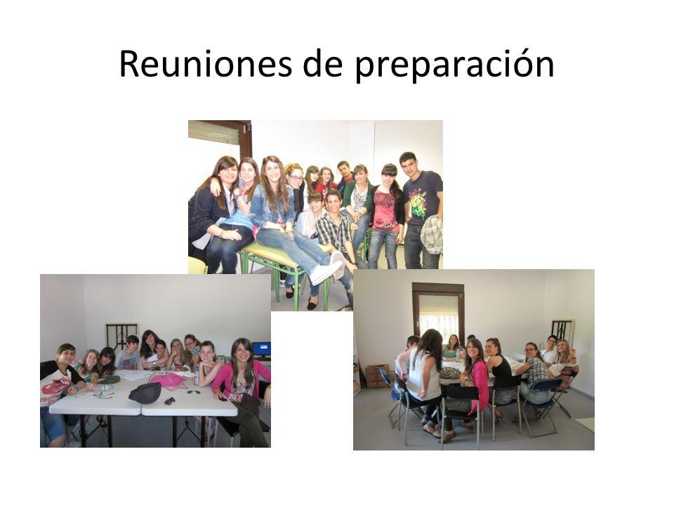 Reuniones de preparación