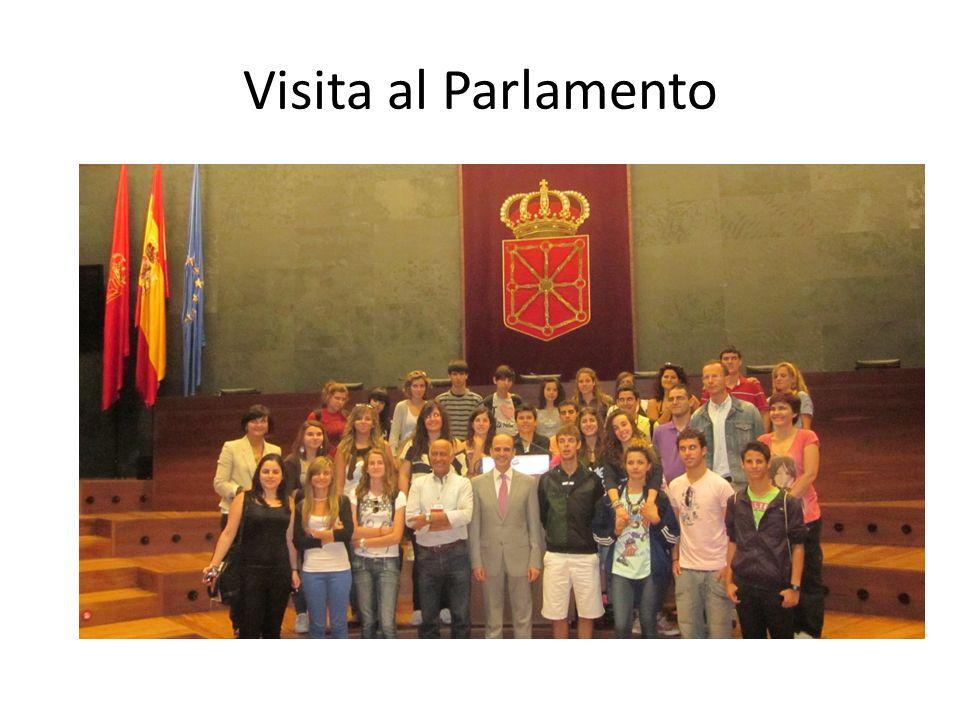 Visita al Parlamento