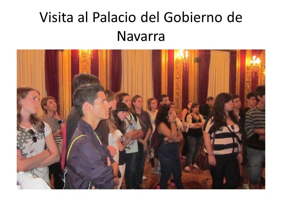 Visita al Palacio del Gobierno de Navarra