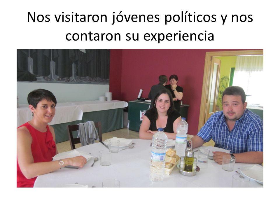 Nos visitaron jóvenes políticos y nos contaron su experiencia