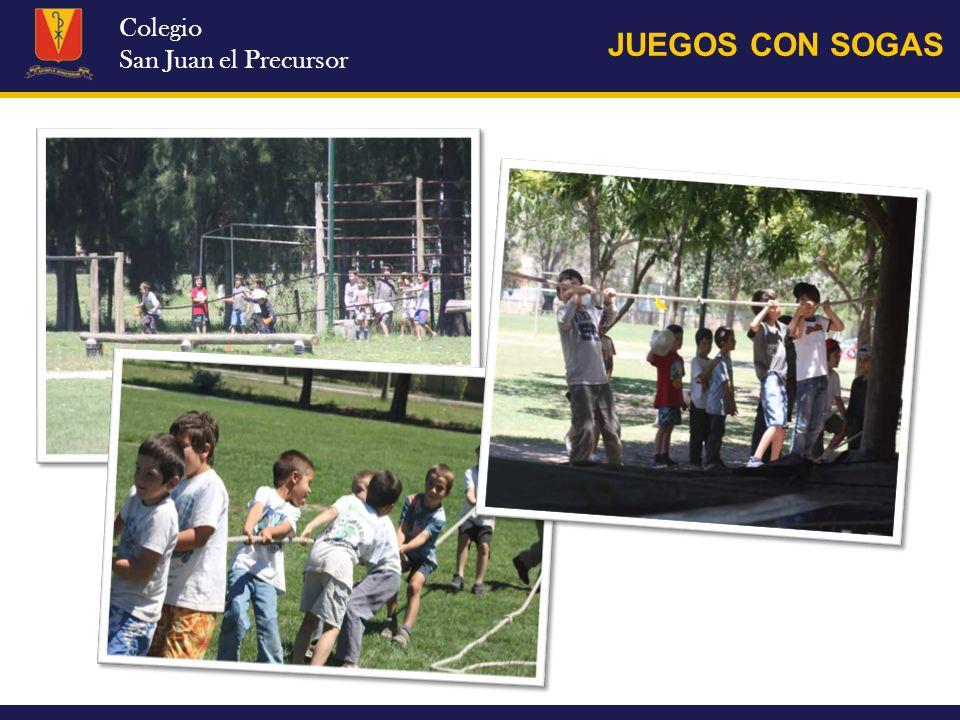 Colegio San Juan el Precursor MIERCOLES 4/12 Llegada al campo de deportes (los traen los papas a las 9.00) Control de elementos Juegos de apertura: zorro, bicho bolita, tortuga, etc.