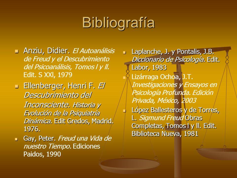 Bibliografía Anziu, Didier.