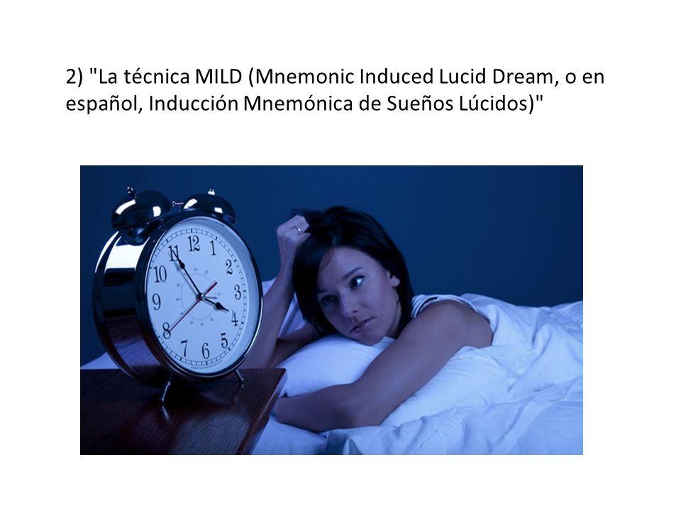 3) La técnica WBTB (Wake back to bed, o en español despierta y de vuelta a la cama )