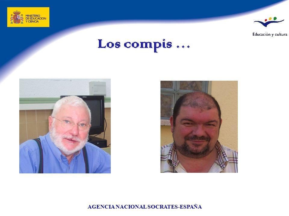 AGENCIA NACIONAL SOCRATES-ESPAÑA Los compis …