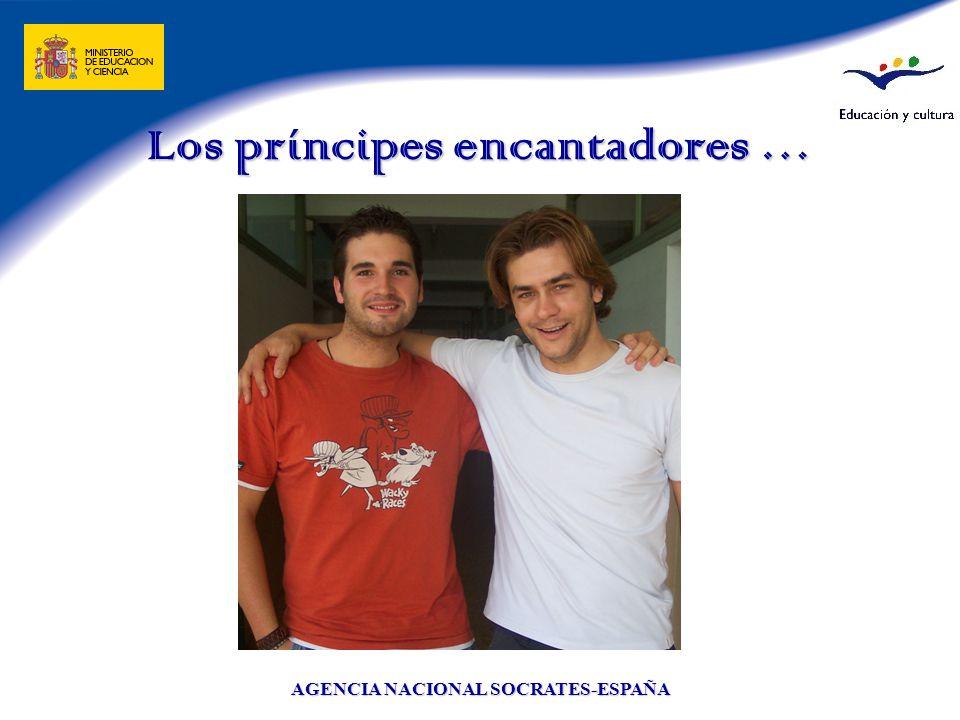 AGENCIA NACIONAL SOCRATES-ESPAÑA Los príncipes encantadores …