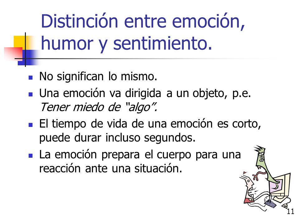 Emoción Teoría de conjunto básico de emociones: Existe un grupo básico de emociones que todos los seres humanos comparten.