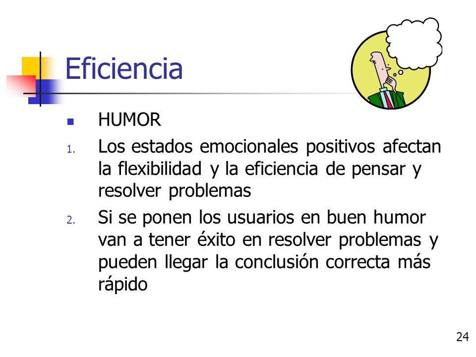 Memoria CONCLUSIÓN Los efectos del humor sobre la memoria son 1.
