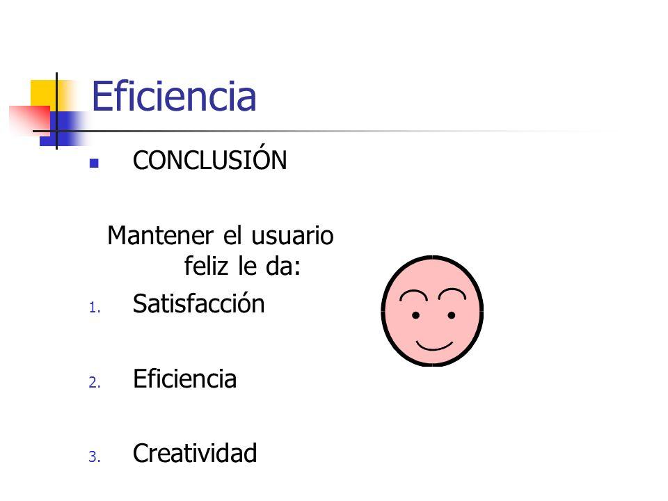 Eficiencia HUMOR 1.
