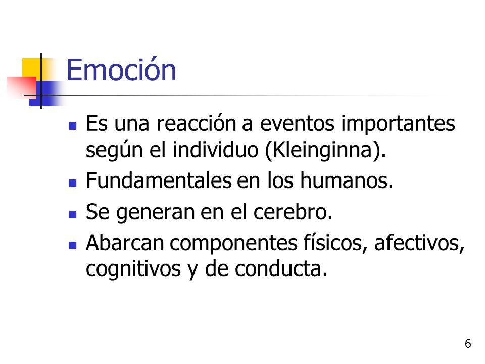 Emoción, Humor y Sentimiento 5