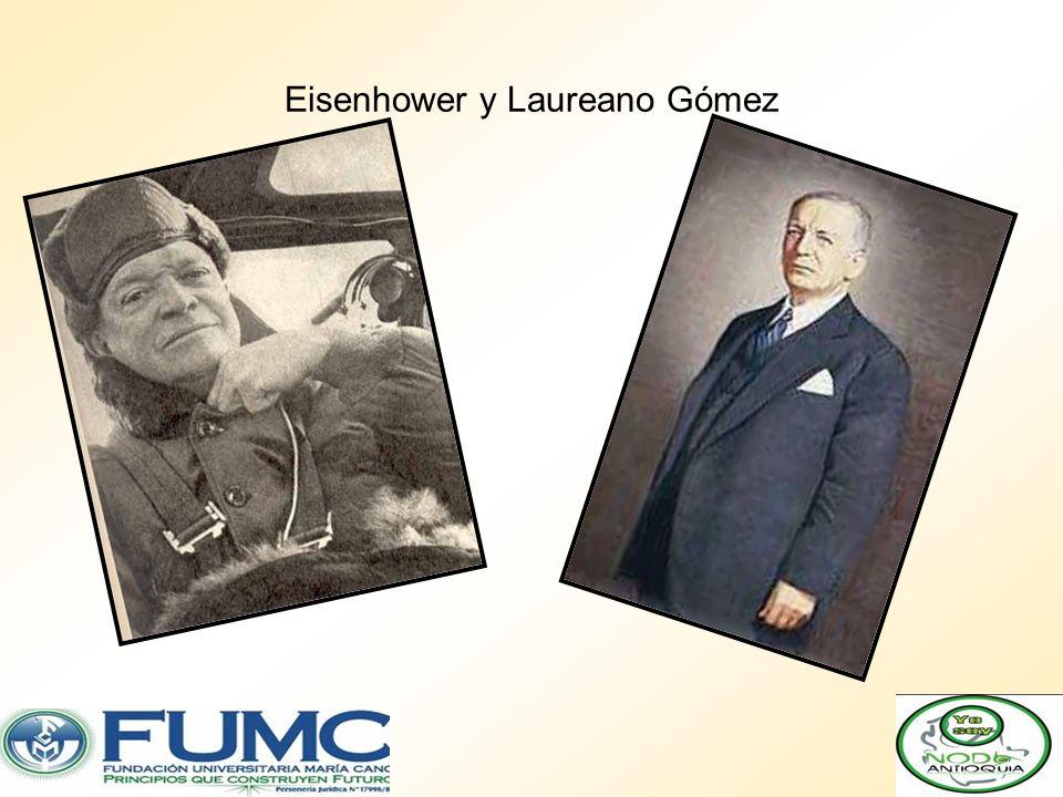Eisenhower y Laureano Gómez