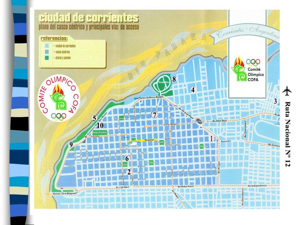 Aquí va el plano de Corrientes