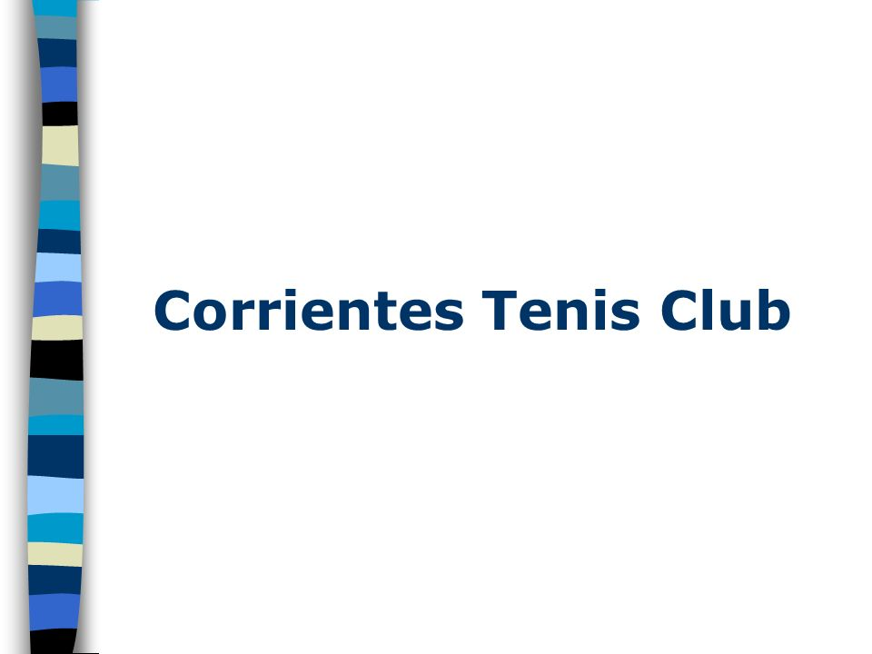 Corrientes Tenis Club