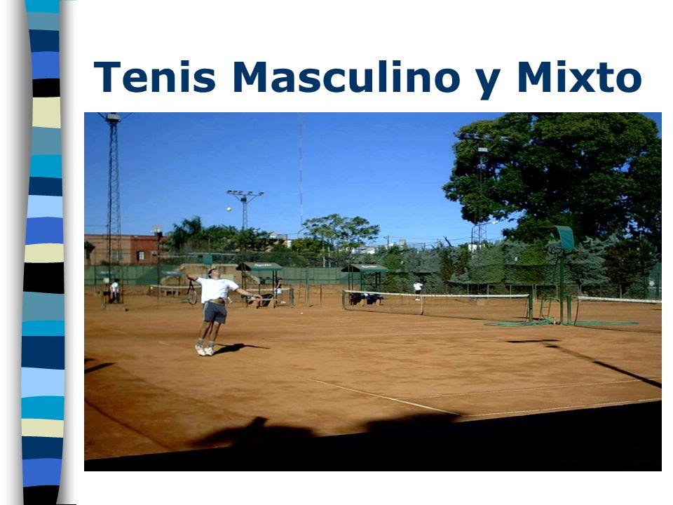 Tenis Masculino y Mixto
