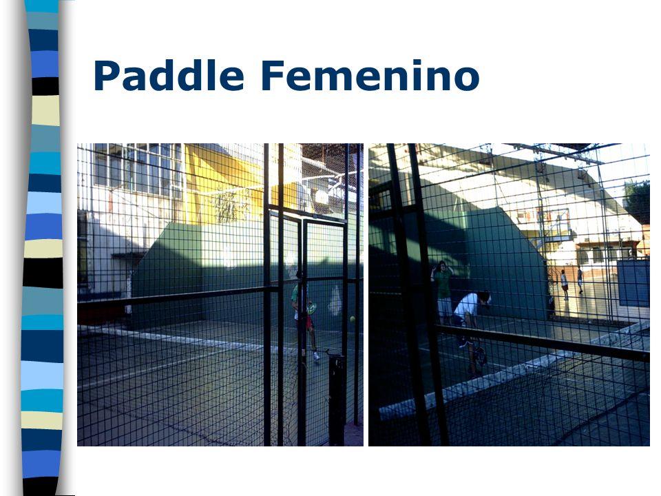 Paddle Femenino