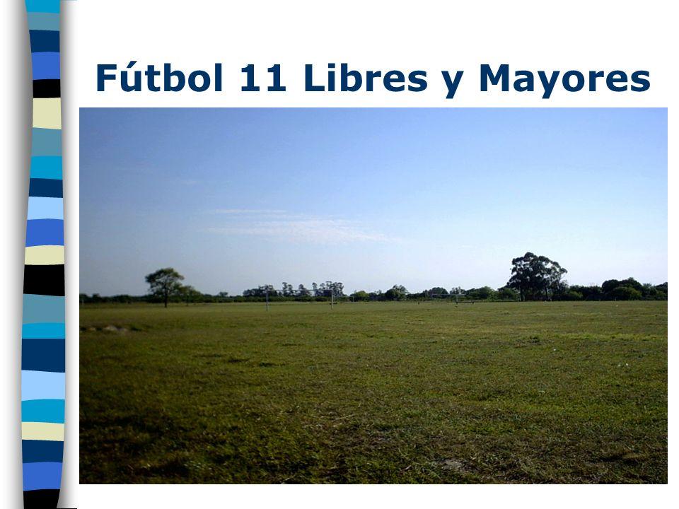 Fútbol 11 Libres y Mayores