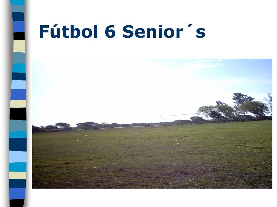 Fútbol 6 Senior´s