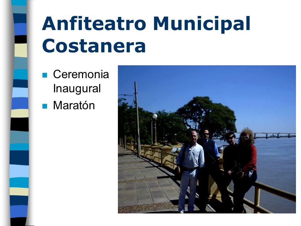 n Ceremonia Inaugural n Maratón