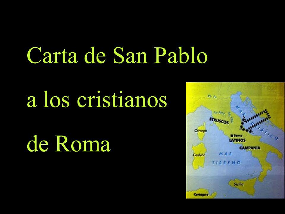 Carta de San Pablo a los cristianos de Roma