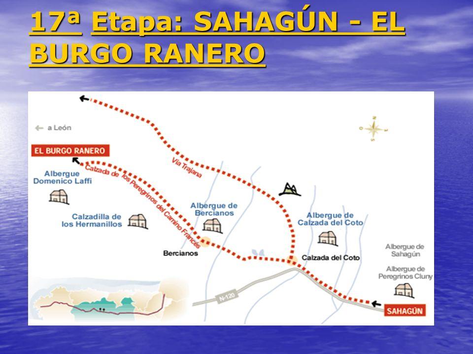 17ª 17ª Etapa: SAHAGÚN - EL BURGO RANERO Etapa: SAHAGÚN - EL BURGO RANERO 17ª Etapa: SAHAGÚN - EL BURGO RANERO