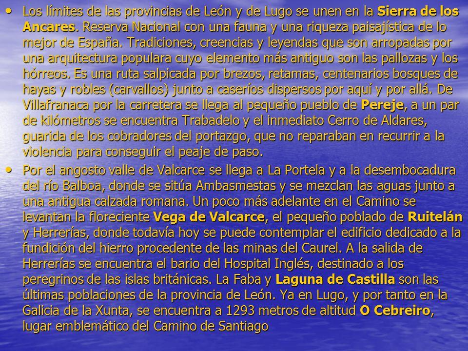 Los límites de las provincias de León y de Lugo se unen en la Sierra de los Ancares. Reserva Nacional con una fauna y una riqueza paisajística de lo m