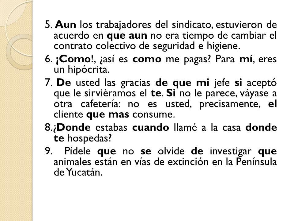 4) Reforma es un periódico muy conocido.