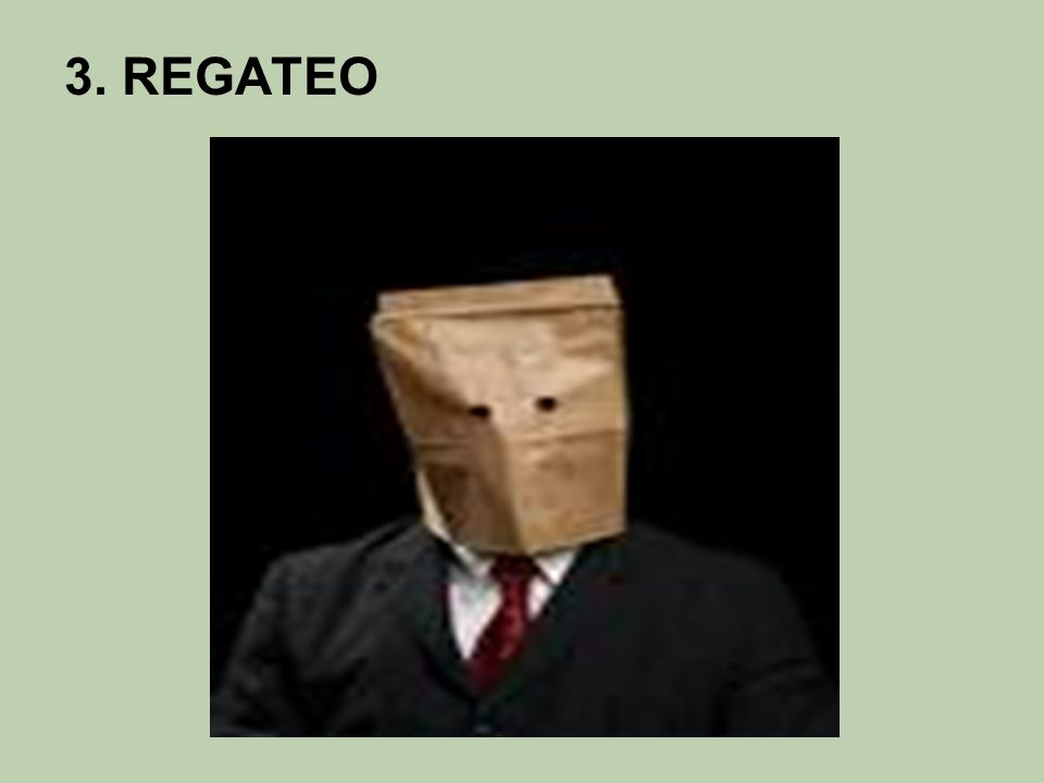 3. REGATEO