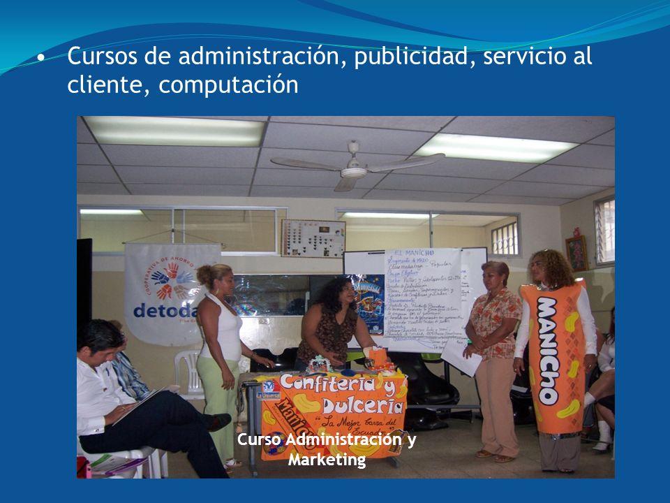 Curso Administración y Marketing Cursos de administración, publicidad, servicio al cliente, computación