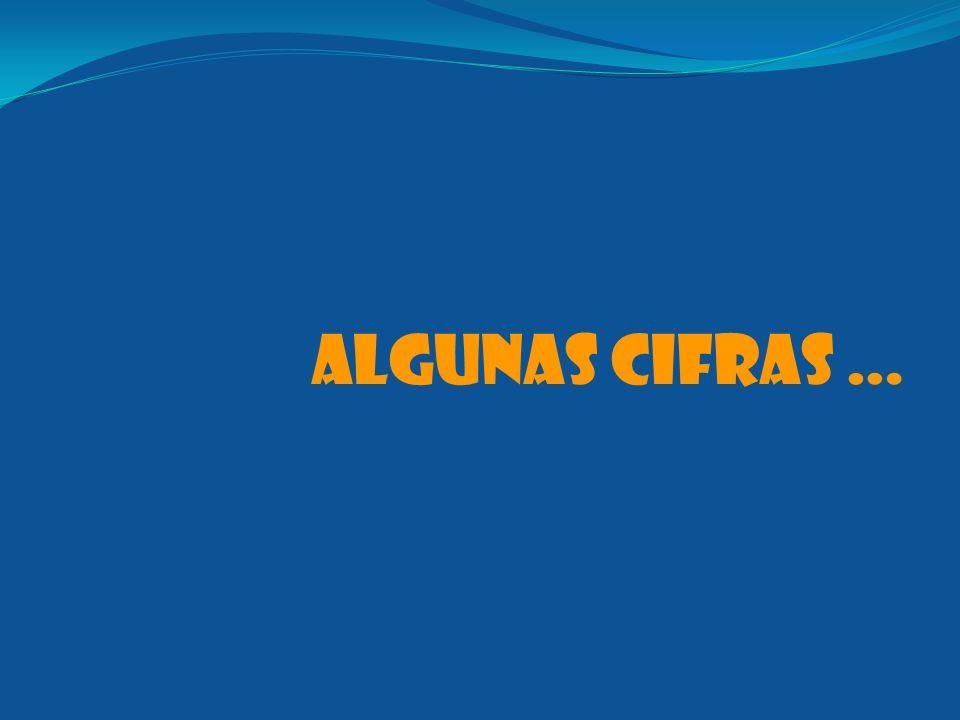ALGUNAS CIFRAS …