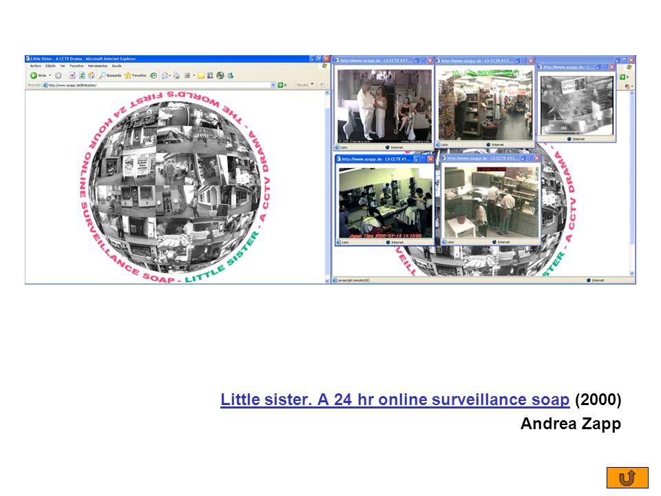 Little sister. A 24 hr online surveillance soapLittle sister. A 24 hr online surveillance soap (2000) Andrea Zapp