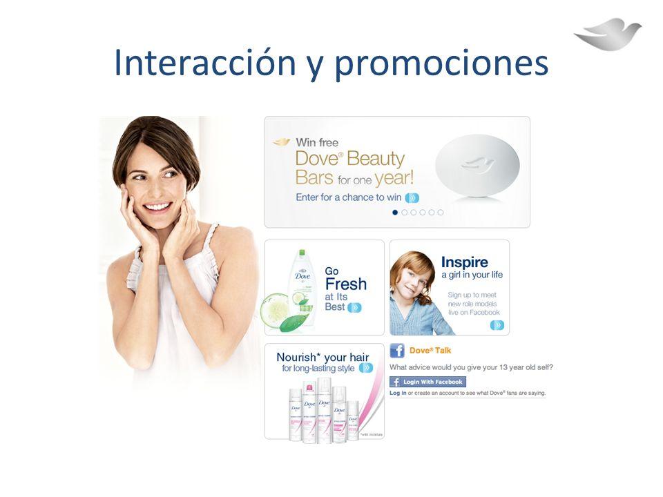 Interacción y promociones