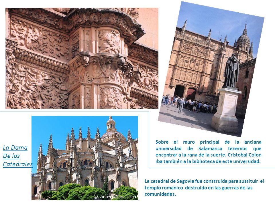 Sobre el muro principal de la anciana universidad de Salamanca tenemos que encontrar a la rana de la suerte.