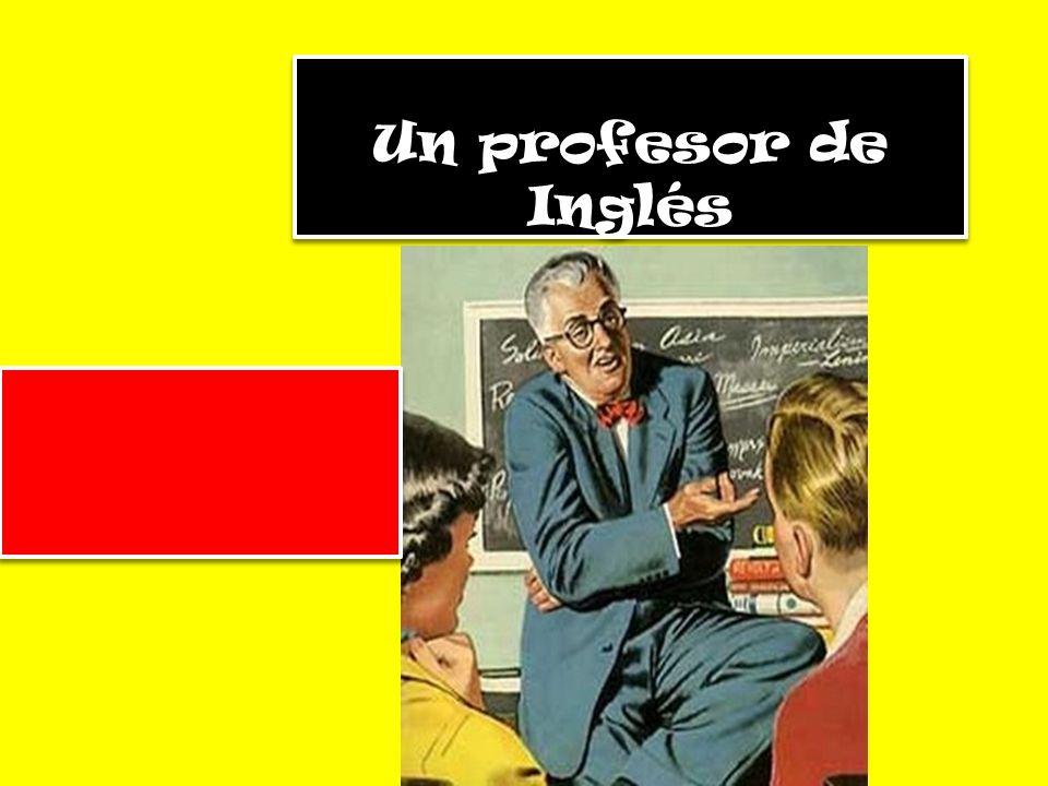 Un profesor de Inglés