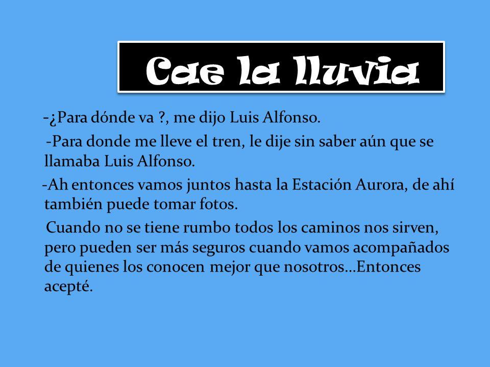 Desde ese día, si la empresa a la que estaba llamando lo aceptaba, Luis Alfonso no volvería limpiar puertas, pisos o baños.