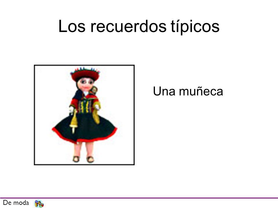 Los recuerdos típicos De moda Una muñeca