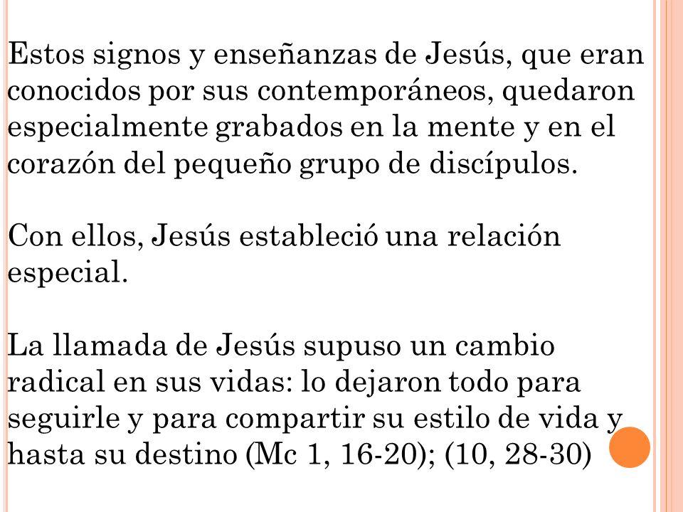 Estos signos y enseñanzas de Jesús, que eran conocidos por sus contemporáneos, quedaron especialmente grabados en la mente y en el corazón del pequeño