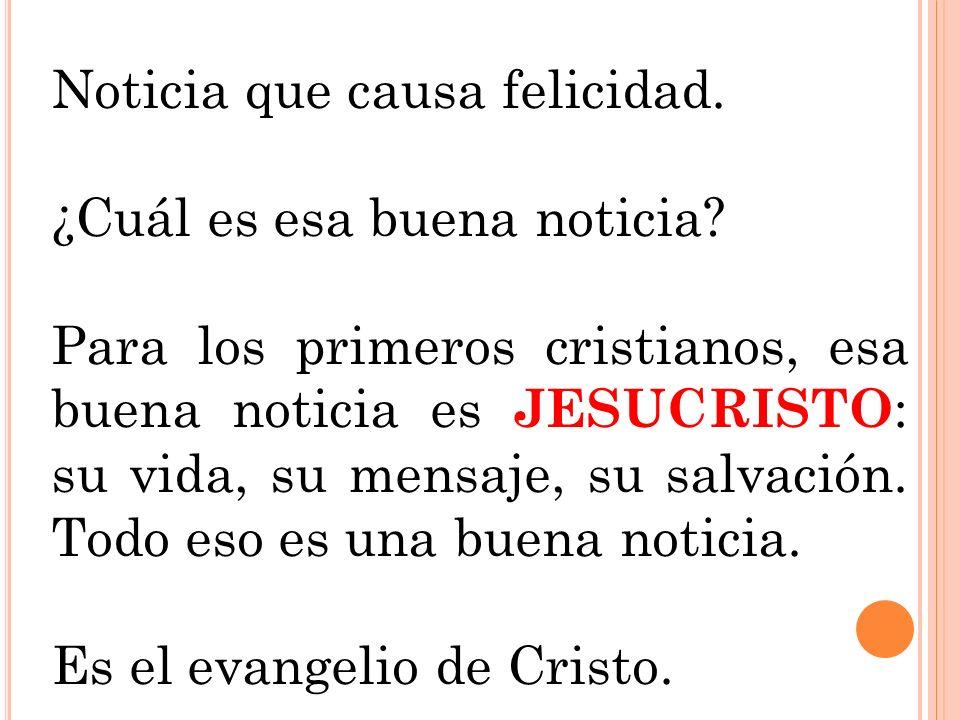 Por tanto, los Evangelios no son biografías de Jesús, aunque en ellos encontremos hechos y acontecimientos de su vida.