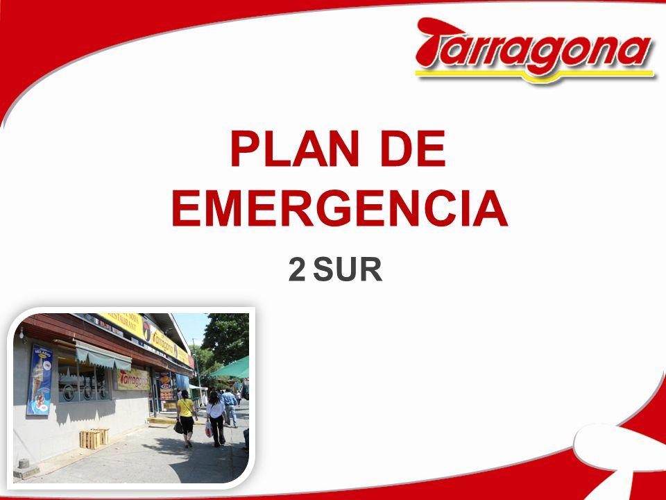 PLAN DE EMERGENCIA 2 SUR