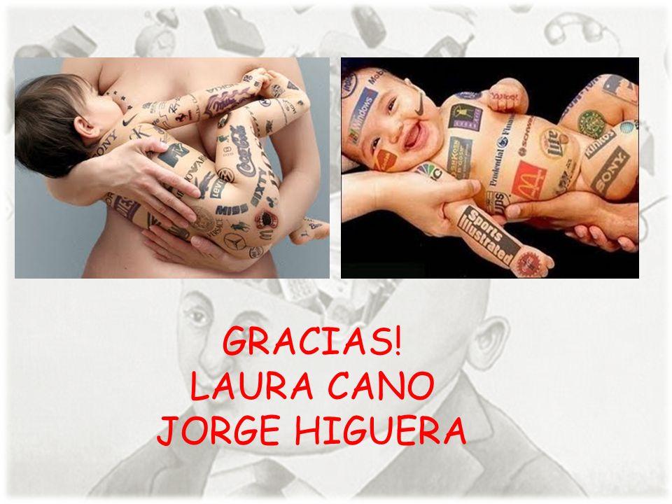 GRACIAS! LAURA CANO JORGE HIGUERA