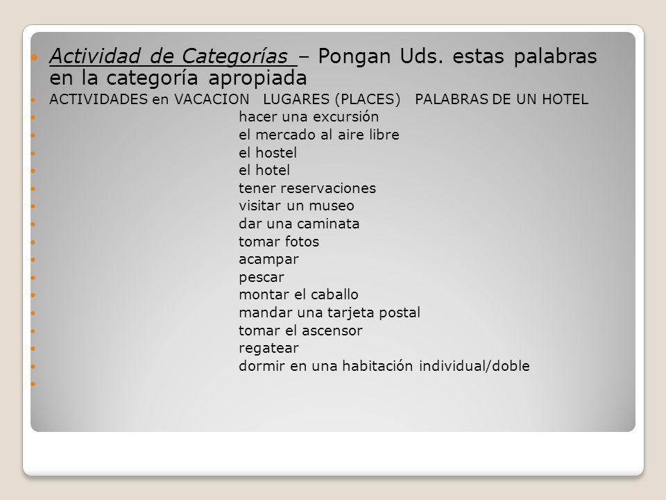 Para y Piensa (Stop and Think) – Did you get it.#1) ¿Dónde queda el museo.