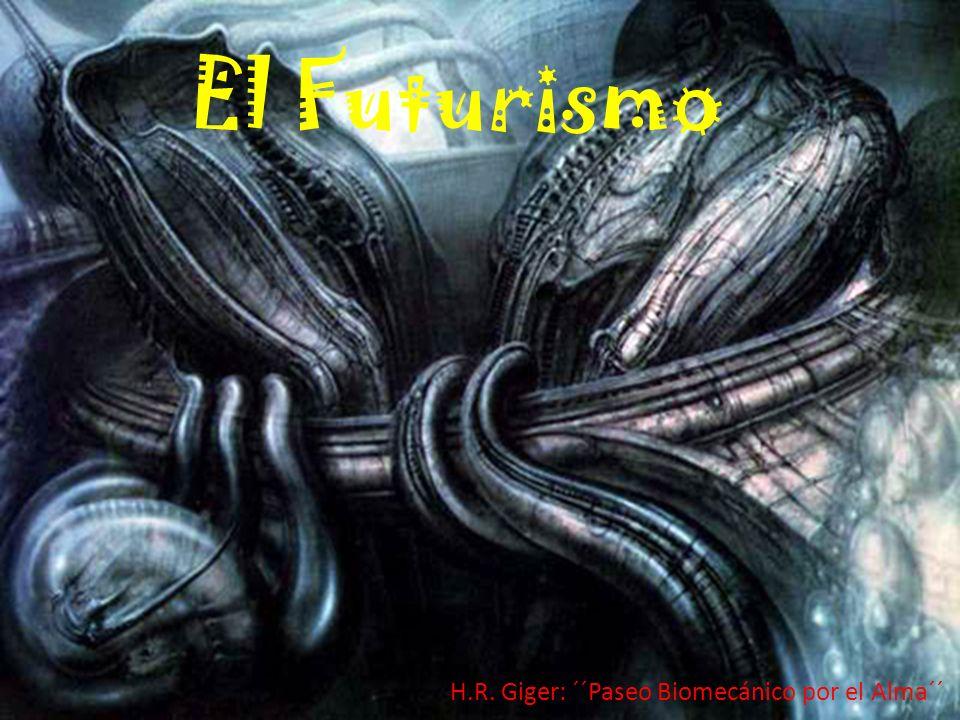 El Futurismo H.R. Giger: ´´Paseo Biomecánico por el Alma´´