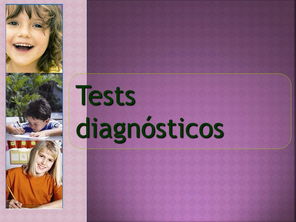 Tests diagnósticos
