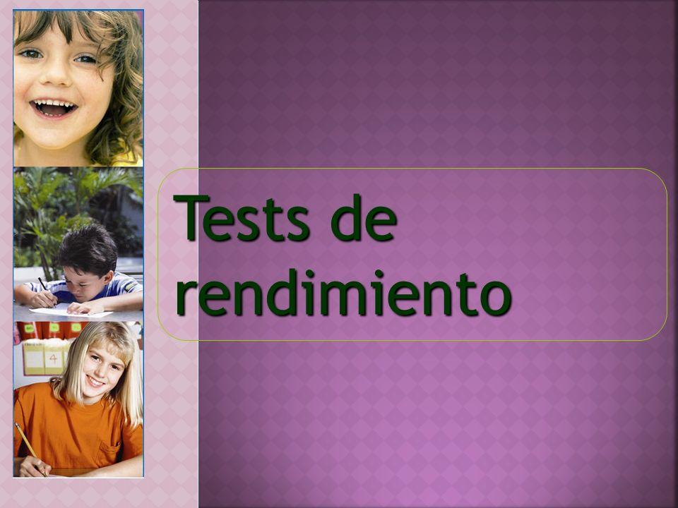 Tests de rendimiento
